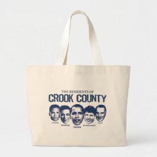 Residentes del condado de Crook Bolsa De Mano