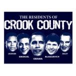 Residentes del condado de Crook Postal