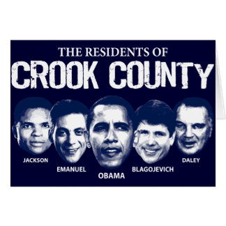 Residentes del condado de Crook Tarjeta