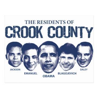 Residentes del condado de Crook Tarjetas Postales