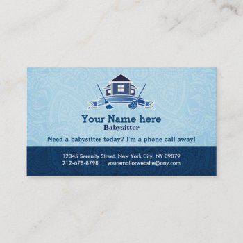 Browse Products At Zazzle With The Theme Housekeeping Business Cards