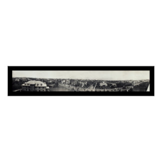 Residential Duluth MN Photo 1914 Print