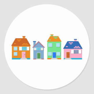 Residential Homes Stickers