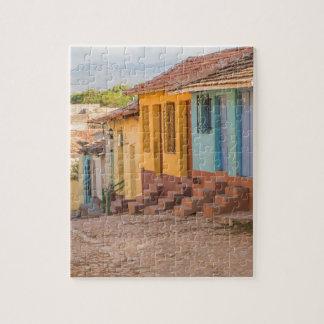 Residential houses, Trinidad, Cuba Jigsaw Puzzle