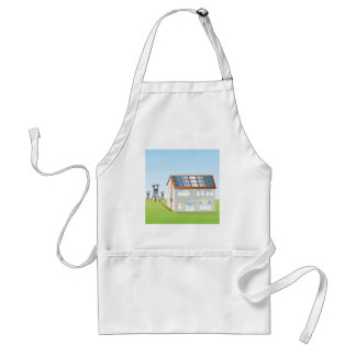 Residential Solar Panel System Adult Apron