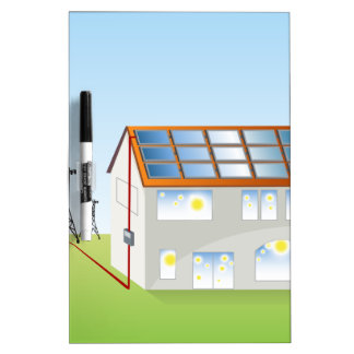 Residential Solar Panel System Dry-Erase Boards