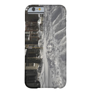 Residential urban (city) street on sunny winter 2 barely there iPhone 6 case