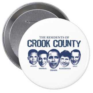 Residents of Crook County 4 Inch Round Button