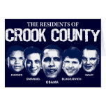 Residents of Crook County Greeting Card