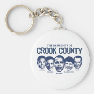 Residents of Crook County Basic Round Button Keychain