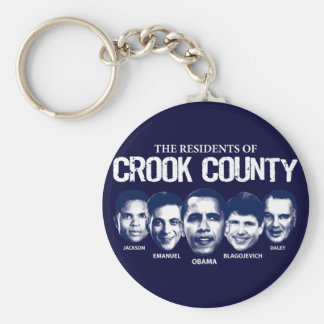 Residents of Crook County Keychain
