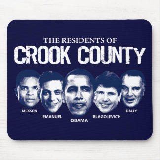 Residents of Crook County Mouse Pad