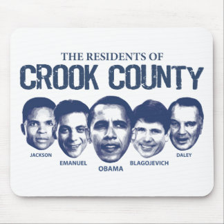 Residents of Crook County Mouse Pads