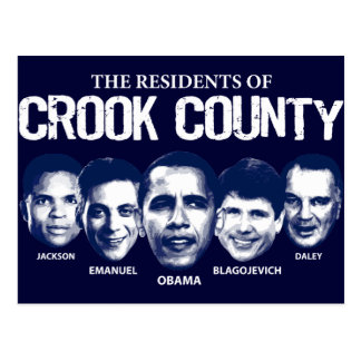 Residents of Crook County Postcard