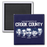 Residents of Crook County Refrigerator Magnet