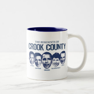 Residents of Crook County Two-Tone Coffee Mug