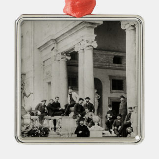 Residents of Villa Medici in Rome Christmas Ornaments