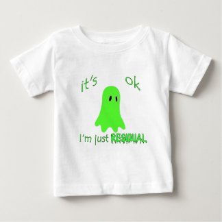 Residual Haunting - Green Ghost Baby T-Shirt