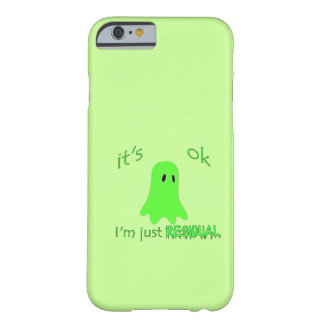 Residual Haunting - Green Ghost Barely There iPhone 6 Case