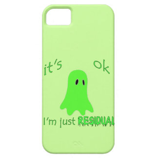 Residual Haunting - Green Ghost iPhone SE/5/5s Case