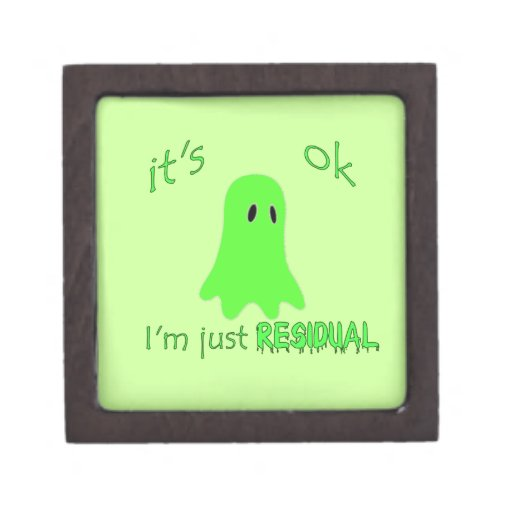 Residual Haunting - Green Ghost Premium Gift Box