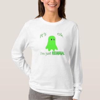 Residual Haunting - Green Ghost T-Shirt