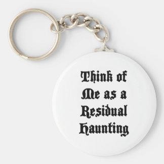 Residual Haunting Basic Round Button Keychain
