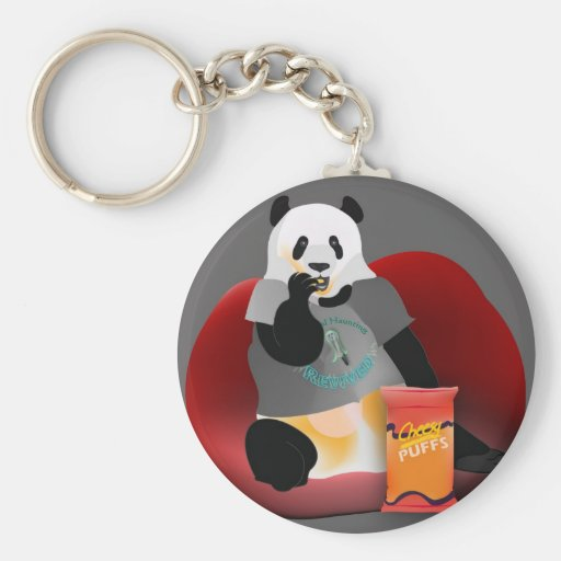 Residual Haunting Revived Keychain