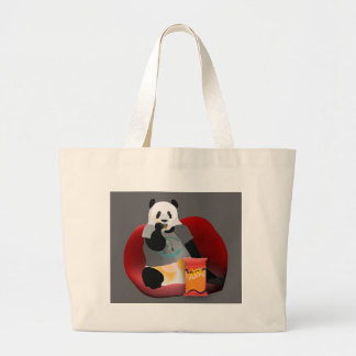 Residual Haunting Revived Large Tote Bag