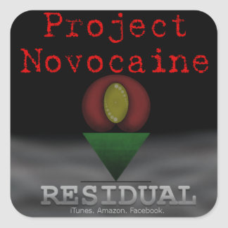 Residual Promo Sticker