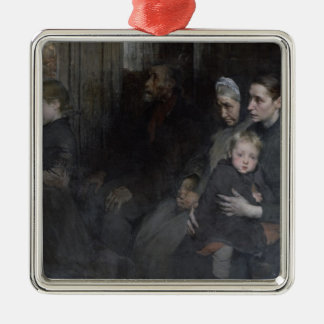Resigned to their Lot, 1901 Metal Ornament
