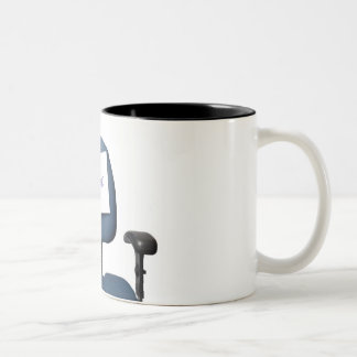 Resigned Two-Tone Coffee Mug