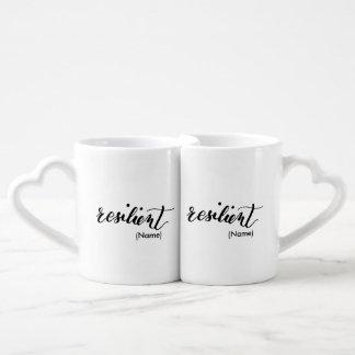 Resilient Custom Coffee Mug Set