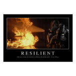 Resilient: Inspirational Quote Poster