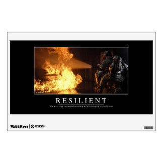 Resilient: Inspirational Quote Wall Decal