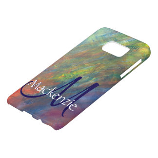Resilient Stylish ROYGBIV Rainbow Flag Abstract Samsung Galaxy S7 Case