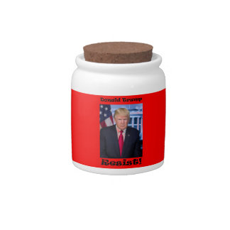 Resist - Anti Trump Candy Dishes