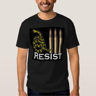 Resist Armor-Piercing 30.06 Snake Black Tee Shirt