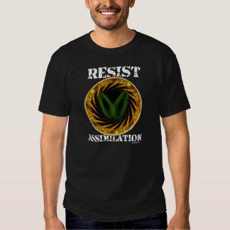 Resist Assimilation Vortex T Shirt