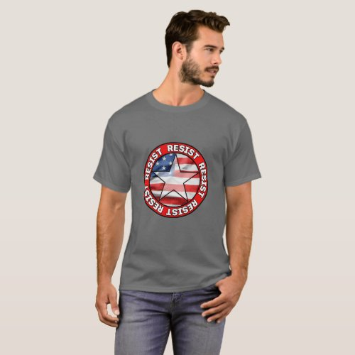 Resist  Basic Dark T_Shirt