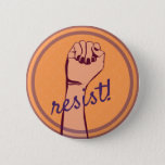 "Resist button<br><div class=""desc"">Resist fascism! Resist bigotry! Resist racism,  sexism,  xenophobia!  It is time to stand up!</div>"