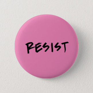 Resist button, standard, pink or choose color button