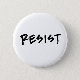 Resist Button, Standard Size, choose your color Pinback Button