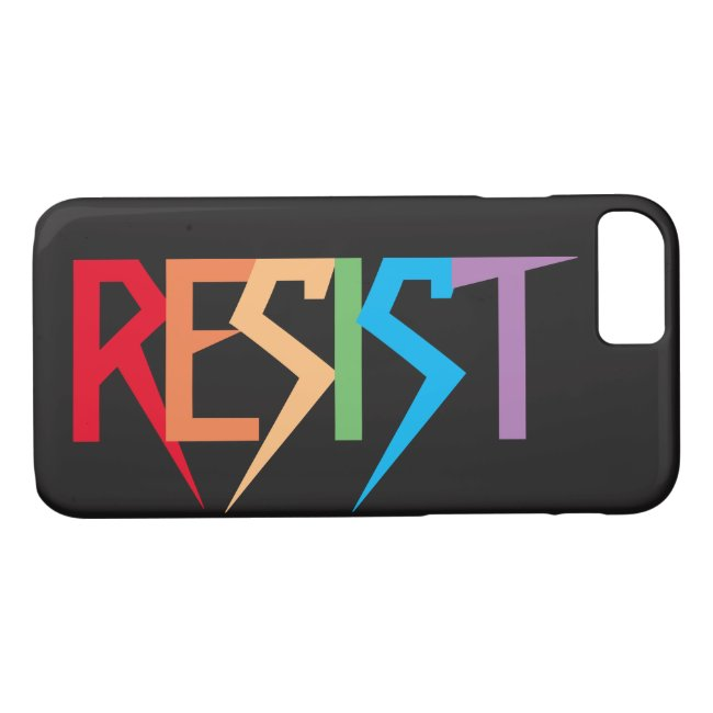 Resist Colorful Rainbow iPhone 7 Case