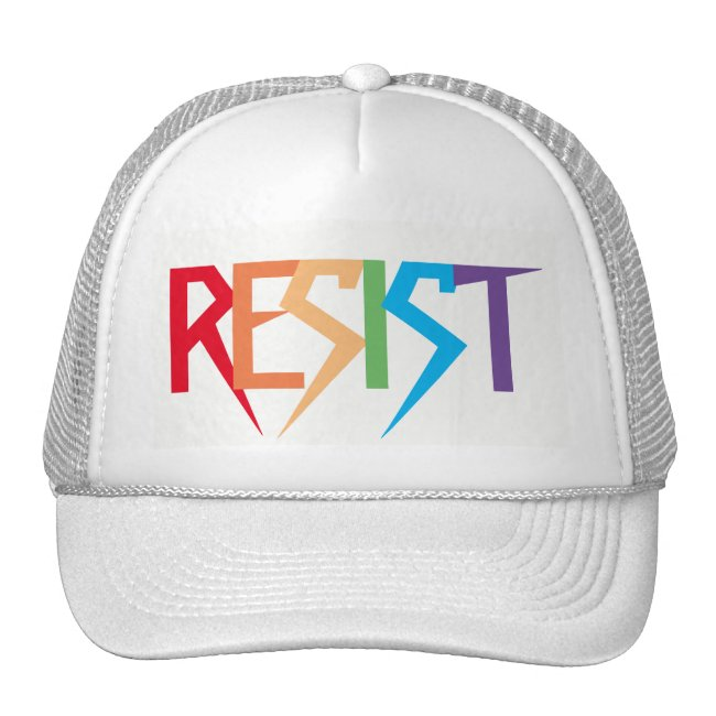 Resist Colorful Rainbow