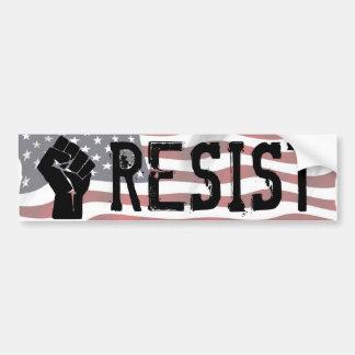 """Resist Donald Trump Shirt """"Resist Fist"""" Bumper Sti Bumper Sticker"""