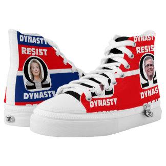 Resist Dynasty! High-Top Sneakers