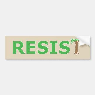 RESIST - Eco version Bumper Sticker