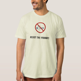 Resist Facebook, think for yourself T-Shirt