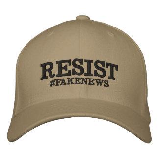 Resist #Fakenews Stretch Hat